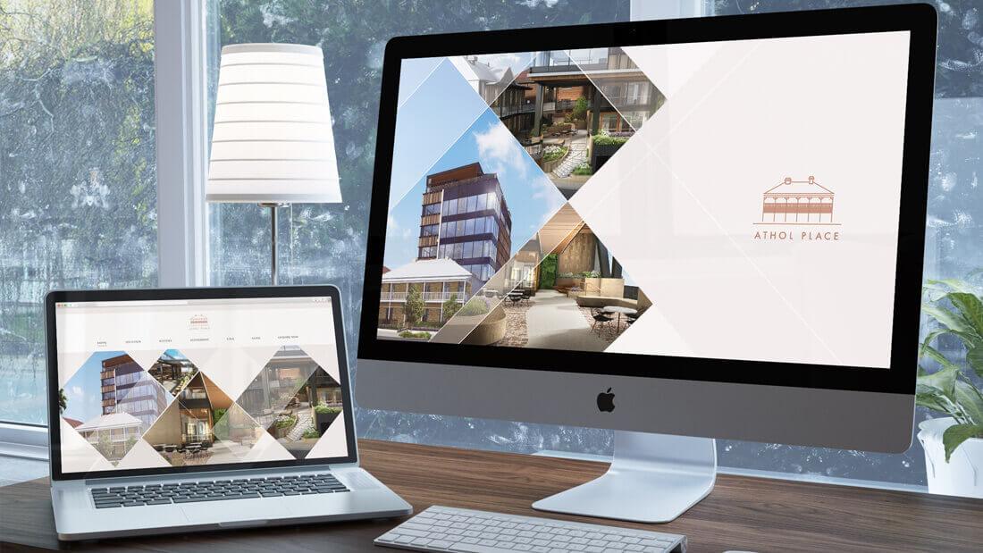 Athol Place website