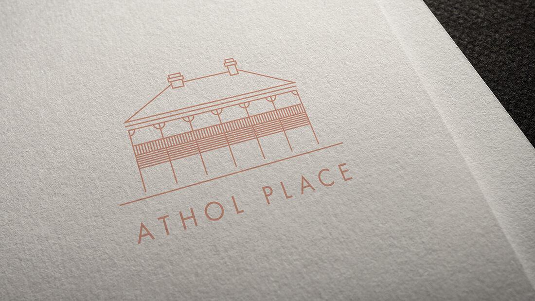 Athol_place-logo-design